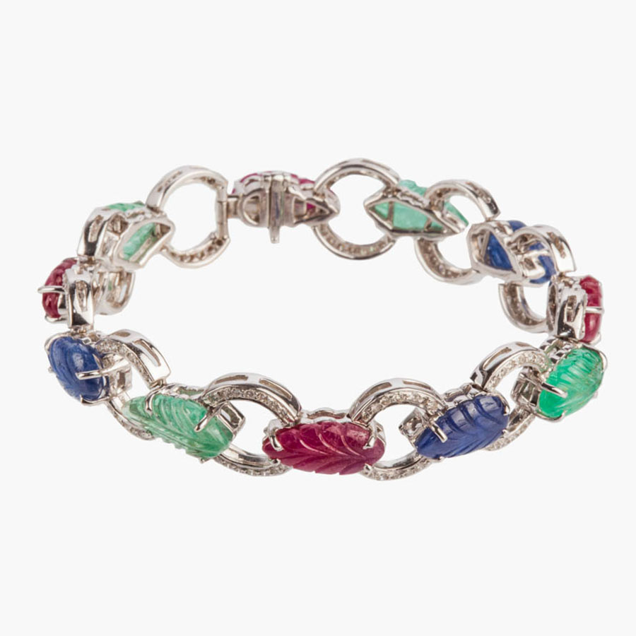 bling princess color crown inspired diana bracelet jewelry sapphire b my procession tennis cz